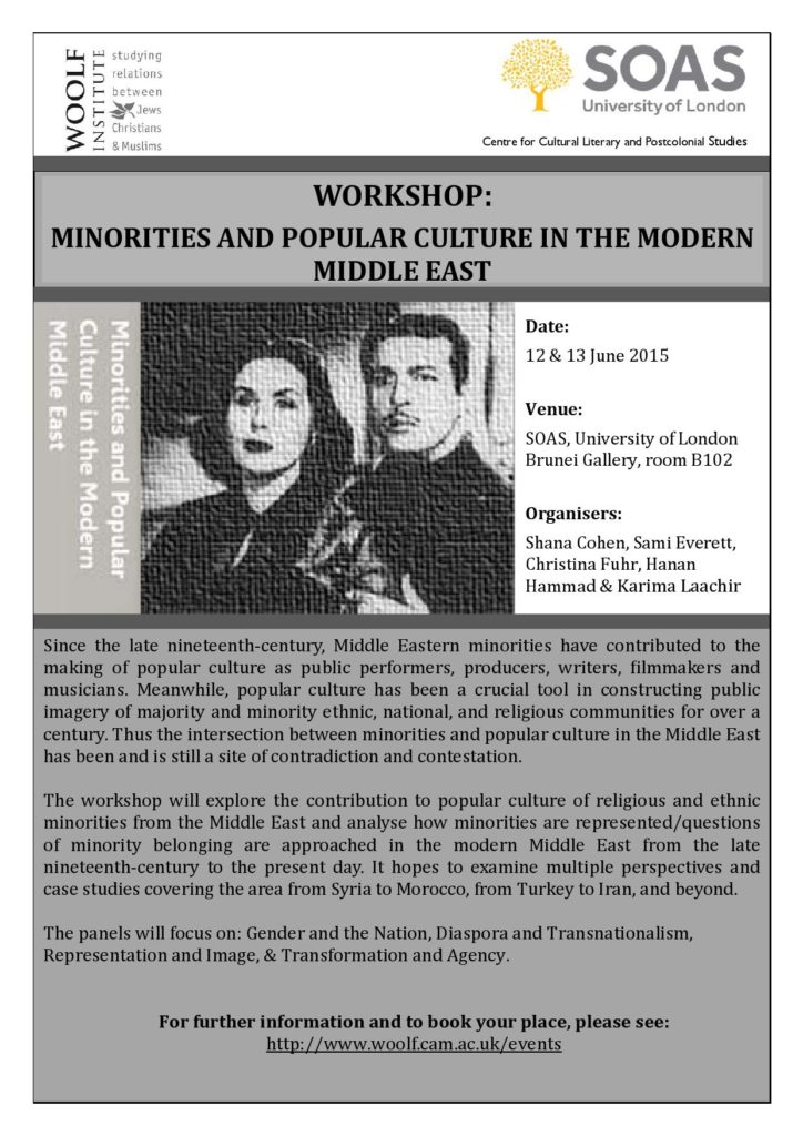 Flier Minorities and Popular Culture in Modern Middle East June 2015-page-001