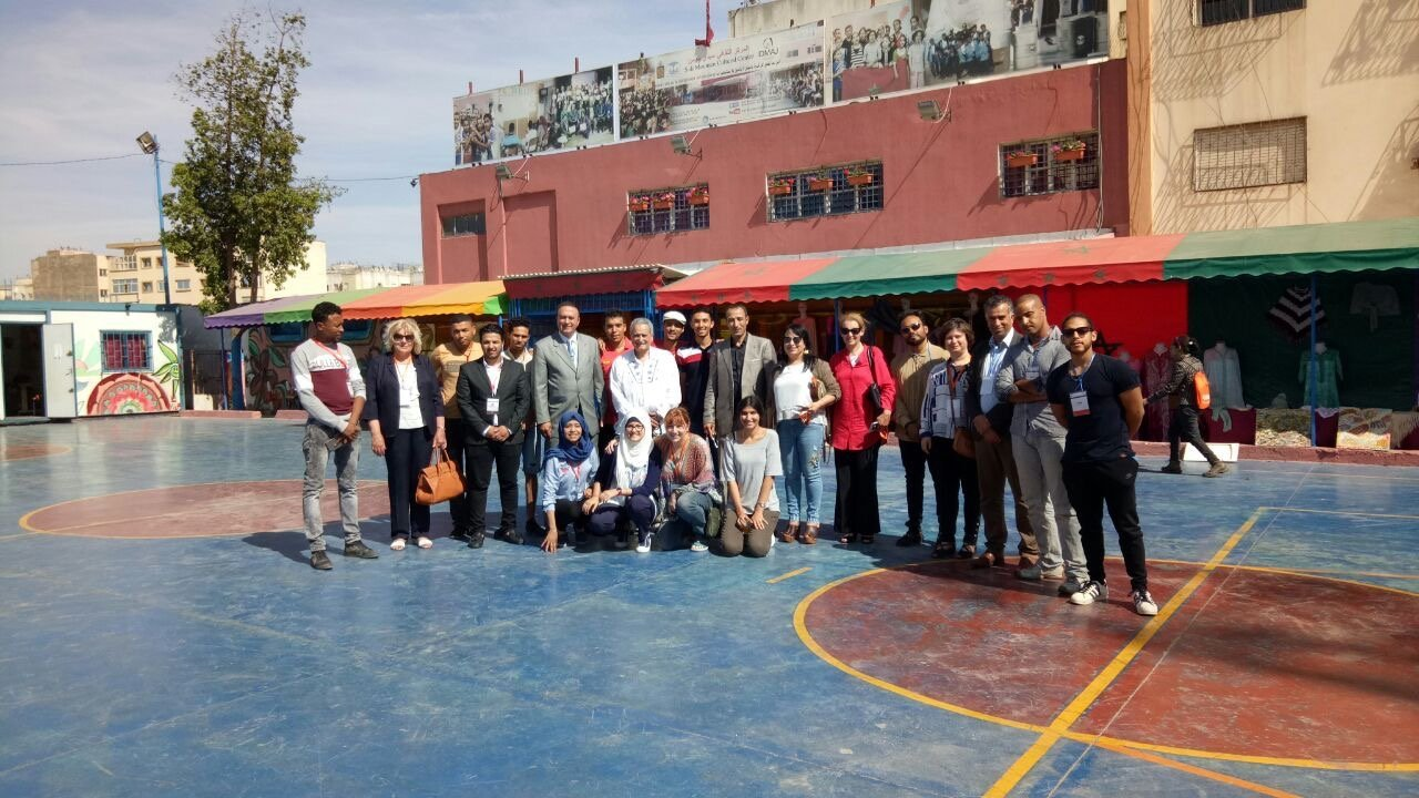 BMS visit to Casablanca educational charity-19-5-17