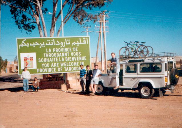 Early Volunteers in Morocco – David Denison
