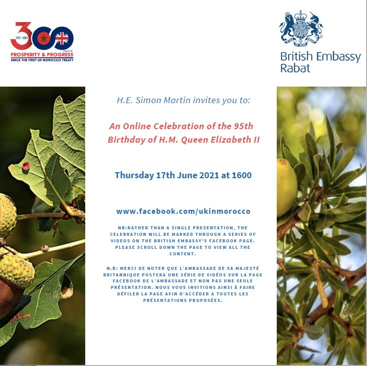 British Embassy Virtual Celebration for the Queen's Birthday